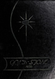 Goldston High School - Gold Stone Yearbook (Goldston, NC) online yearbook collection, 1956 Edition, Page 1