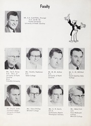Page 10, 1957 Edition, Goldston High School - Gold Stone Yearbook (Goldston, NC) online yearbook collection