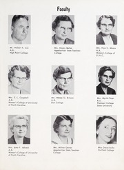 Page 11, 1957 Edition, Goldston High School - Gold Stone Yearbook (Goldston, NC) online yearbook collection