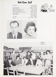 Page 7, 1957 Edition, Goldston High School - Gold Stone Yearbook (Goldston, NC) online yearbook collection