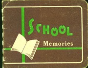 Page 1, 1958 Edition, Stovall High School - Memories Yearbook (Stovall, NC) online yearbook collection