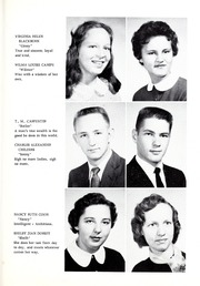 Page 13, 1957 Edition, Union High School - Acorn Yearbook (Vale, NC) online yearbook collection