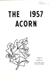Page 5, 1957 Edition, Union High School - Acorn Yearbook (Vale, NC) online yearbook collection