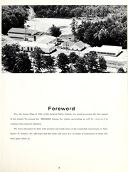 Page 7, 1964 Edition, Sedalia High School - Sedalian Yearbook (Sedalia, NC) online yearbook collection