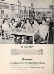 Page 6, 1957 Edition, Yadkin High School - Eagle Yearbook (Boonville, NC) online yearbook collection