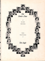 Page 5, 1957 Edition, Silk Hope High School - Eagle Yearbook (Siler City, NC) online yearbook collection