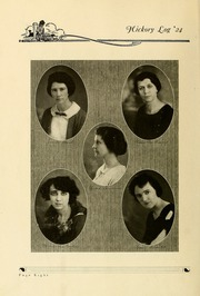 Page 14, 1924 Edition, Claremont High School - Hickory Log Yearbook (Hickory, NC) online yearbook collection