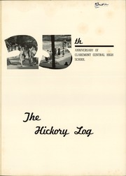 Page 5, 1950 Edition, Claremont High School - Hickory Log Yearbook (Hickory, NC) online yearbook collection