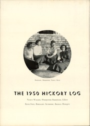 Page 6, 1950 Edition, Claremont High School - Hickory Log Yearbook (Hickory, NC) online yearbook collection