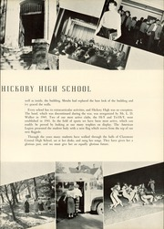 Page 9, 1950 Edition, Claremont High School - Hickory Log Yearbook (Hickory, NC) online yearbook collection