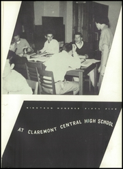Page 5, 1955 Edition, Claremont High School - Hickory Log Yearbook (Hickory, NC) online yearbook collection
