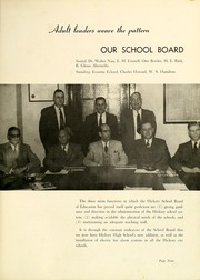 Page 13, 1956 Edition, Claremont High School - Hickory Log Yearbook (Hickory, NC) online yearbook collection