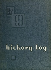 1958 Edition, Claremont High School - Hickory Log Yearbook (Hickory, NC)
