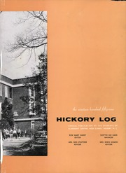 Page 7, 1959 Edition, Claremont High School - Hickory Log Yearbook (Hickory, NC) online yearbook collection