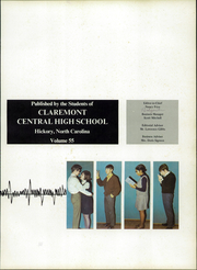 Page 5, 1970 Edition, Claremont High School - Hickory Log Yearbook (Hickory, NC) online yearbook collection