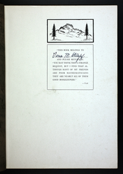 Page 5, 1923 Edition, Black Hills State University - Eoicha Yearbook (Spearfish, SD) online yearbook collection