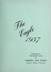 Page 5, 1957 Edition, Gamewell Collettsville High School - Devils Diary Yearbook (Lenoir, NC) online yearbook collection