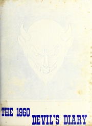 Gamewell Collettsville High School - Devils Diary Yearbook (Lenoir, NC) online yearbook collection, 1960 Edition, Page 1