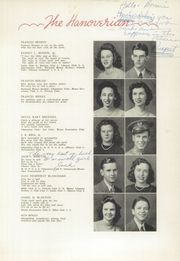 Page 15, 1943 Edition, New Hanover High School - Hanoverian Yearbook (Wilmington, NC) online yearbook collection