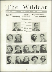 Page 146, 1949 Edition, New Hanover High School - Hanoverian Yearbook (Wilmington, NC) online yearbook collection