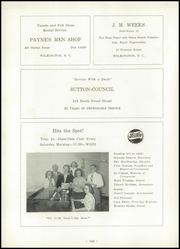 Page 160, 1949 Edition, New Hanover High School - Hanoverian Yearbook (Wilmington, NC) online yearbook collection