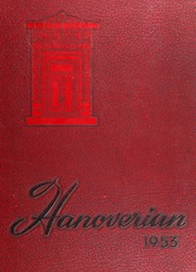 New Hanover High School - Hanoverian Yearbook (Wilmington, NC) online yearbook collection, 1953 Edition, Page 1