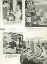 Page 13, 1954 Edition, New Hanover High School - Hanoverian Yearbook (Wilmington, NC) online yearbook collection