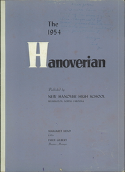 Page 5, 1954 Edition, New Hanover High School - Hanoverian Yearbook (Wilmington, NC) online yearbook collection