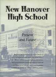 Page 7, 1954 Edition, New Hanover High School - Hanoverian Yearbook (Wilmington, NC) online yearbook collection
