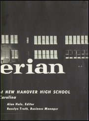 Page 7, 1959 Edition, New Hanover High School - Hanoverian Yearbook (Wilmington, NC) online yearbook collection