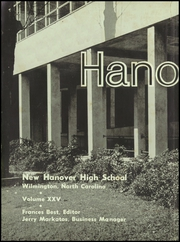 Page 6, 1960 Edition, New Hanover High School - Hanoverian Yearbook (Wilmington, NC) online yearbook collection