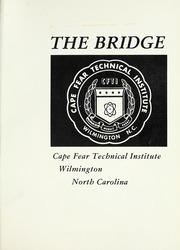Page 5, 1970 Edition, Cape Fear Community College - Bridge (Wilmington, NC) online yearbook collection