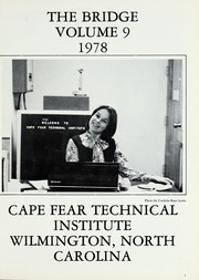 Page 5, 1978 Edition, Cape Fear Community College - Bridge (Wilmington, NC) online yearbook collection