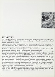 Page 8, 1978 Edition, Cape Fear Community College - Bridge (Wilmington, NC) online yearbook collection