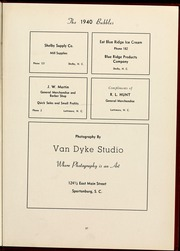Page 41, 1940 Edition, Gardner Webb University - Web / Anchor Yearbook (Boiling Springs, NC) online yearbook collection