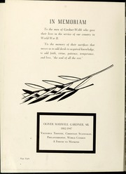 Page 12, 1947 Edition, Gardner Webb University - Web Yearbook (Boiling Springs, NC) online yearbook collection