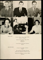 Page 17, 1947 Edition, Gardner Webb University - Web Yearbook (Boiling Springs, NC) online yearbook collection
