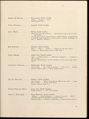 Page 31, 1949 Edition, Gardner Webb University - Web / Anchor Yearbook (Boiling Springs, NC) online yearbook collection