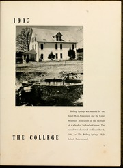Page 11, 1950 Edition, Gardner Webb University - Web Yearbook (Boiling Springs, NC) online yearbook collection