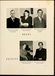 Page 17, 1950 Edition, Gardner Webb University - Web Yearbook (Boiling Springs, NC) online yearbook collection