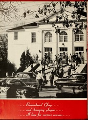 Page 10, 1954 Edition, Gardner Webb University - Web Yearbook (Boiling Springs, NC) online yearbook collection