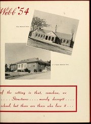 Page 9, 1954 Edition, Gardner Webb University - Web Yearbook (Boiling Springs, NC) online yearbook collection