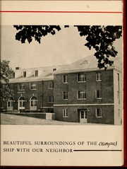Page 13, 1958 Edition, Gardner Webb University - Web Yearbook (Boiling Springs, NC) online yearbook collection