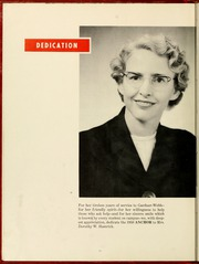 Page 14, 1958 Edition, Gardner Webb University - Web Yearbook (Boiling Springs, NC) online yearbook collection