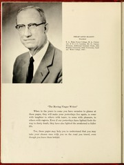 Page 16, 1958 Edition, Gardner Webb University - Web Yearbook (Boiling Springs, NC) online yearbook collection