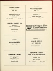 Page 135, 1961 Edition, Gardner Webb University - Web / Anchor Yearbook (Boiling Springs, NC) online yearbook collection