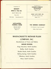 Page 138, 1961 Edition, Gardner Webb University - Web / Anchor Yearbook (Boiling Springs, NC) online yearbook collection