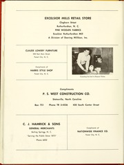 Page 142, 1961 Edition, Gardner Webb University - Web / Anchor Yearbook (Boiling Springs, NC) online yearbook collection