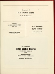 Page 143, 1961 Edition, Gardner Webb University - Web / Anchor Yearbook (Boiling Springs, NC) online yearbook collection