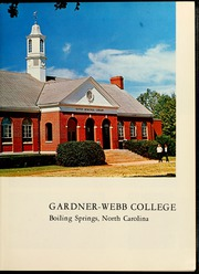 Page 7, 1966 Edition, Gardner Webb University - Web Yearbook (Boiling Springs, NC) online yearbook collection